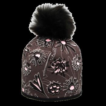 zimní čepice BODLÁKY R102MACh kož.