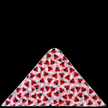 trojcípý šátek BERUŠKY R226Ch