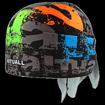 trojcípý šátek PÍSMENA R008Amix
