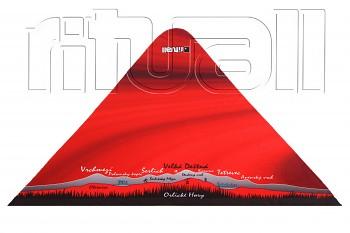 trojcípý šátek ORLICKÉ HORY OR004B