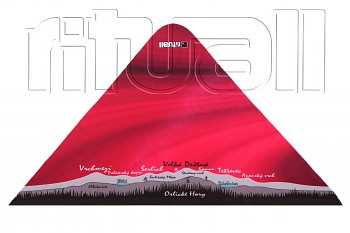 trojcípý šátek ORLICKÉ HORY OR004O