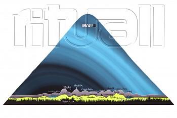 trojcípý šátek ŠUMAVA SU004F