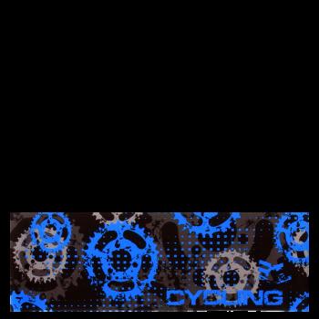 RITUALL čelenka CYCLING černá/modrá
