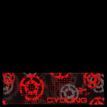 RITUALL čelenka CYCLING černá/červená