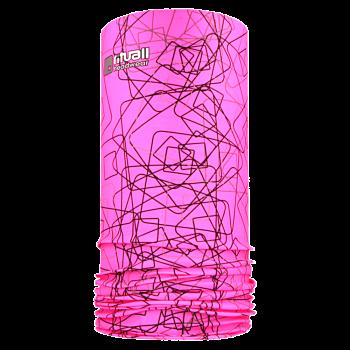 Nákrčník TVARY RITUALL R120Of růžová fluo