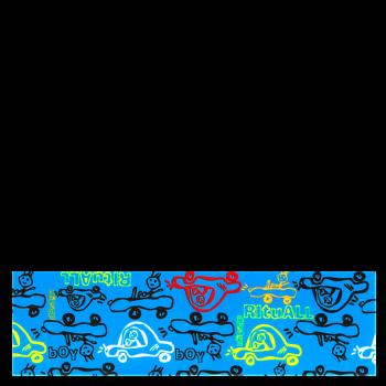 RITUALL čelenka MINICAR modrá