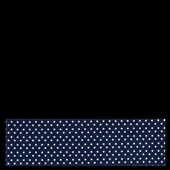 RITUALL čelenka PUNTÍKY tmavě modrá/bílá