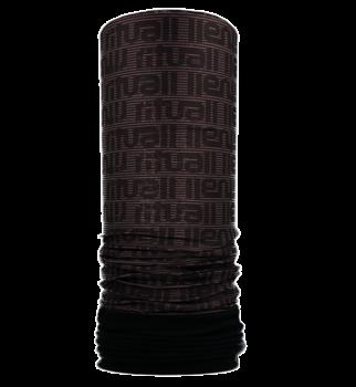 Nákrčník s flisem PRUHOVANÝ RITUALL R199F černá