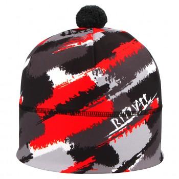 b042d4f43e5 RITUALL podzim zima čepice ŠTĚTCE Stelvio černá červená