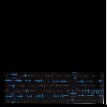 RITUALL čelenka EKG černá/modrá