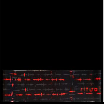 RITUALL čelenka EKG černá/červená