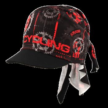trojcípý šátek s kšiltem CYCLING R051AB