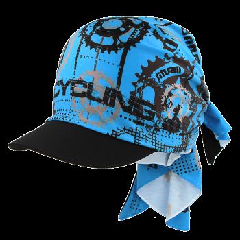 trojcípý šátek s kšiltem CYCLING R051Q
