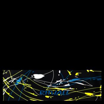 RITUALL čelenka ŠMOUHY černá/neon žlutá