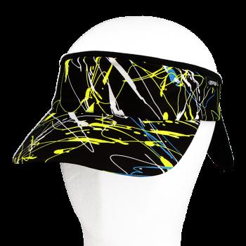 Vázací čelenka s kšiltem Coolmax ŠMOUHY R157CSf