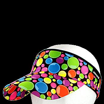 Vázací čelenka s kšiltem Coolmax LENTILKY R185CAMIX