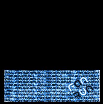 RITUALL čelenka FAN RUN modrá