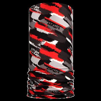 multifunkční šátek ŠTĚTCE Mikropolyester červená