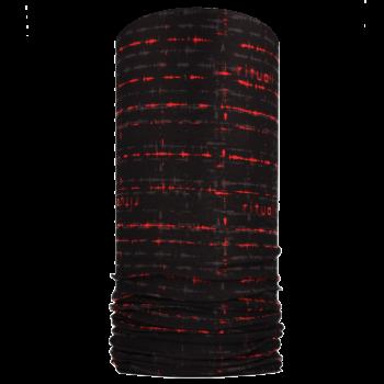 Nákrčník EKG R090AB černá/červená