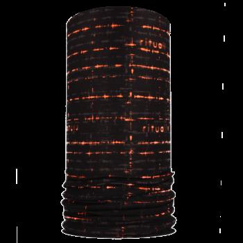 Nákrčník EKG R090AG černá/oranžová