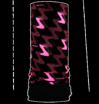 Nákrčník s flisem Z R527FAOf černá/růžová fluo