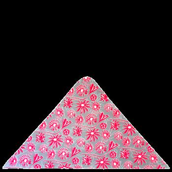 trojcípý šátek BODLÁKY R106HOf