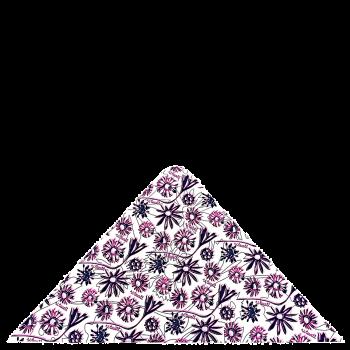 trojcípý šátek BODLÁKY R106JOf