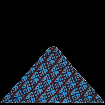 trojcípý šátek RITUALL STÍNOVANÝ R401AQ