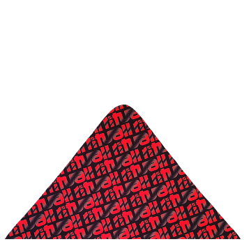 trojcípý šátek RITUALL STÍNOVANÝ R401AB
