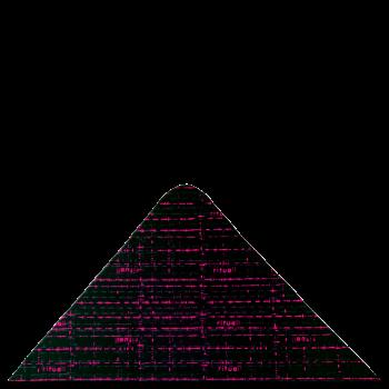 trojcípý šátek EKG R091AOf