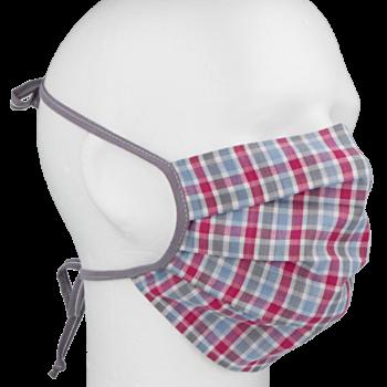Rouška bavlněná dvouvrstvá s kapsou na filtr  R918