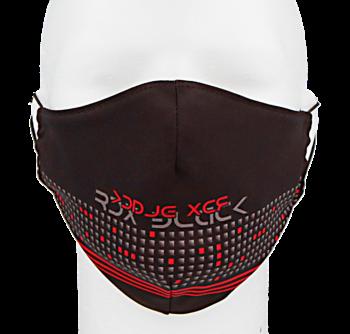 Rouška design BLACK FR746B